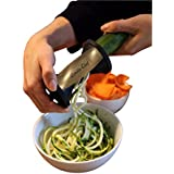 Zoodle Chef Premium Vegetable Spiralizer, **New Year Sales Price** Spiral Slicer, Zucchini Noodle, Spaghetti And...