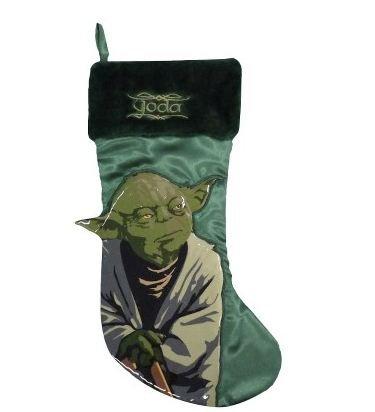 18 Inch Star Wars Yoda St Nick Christmas Stocking