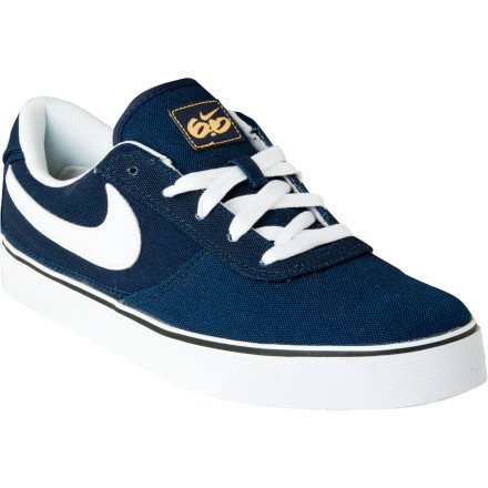 Nike 6.0 Mavrk Low 2 Canvas Skate Shoe - Men's Obsidian/White-Honeycomb, 11.5