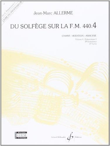 Du Solfege Sur la F.M. 440.4 - Chant/Audition/Analyse - Prof.