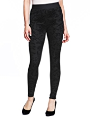M&S Collection Flocked Leggings