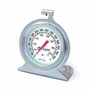 CDN POT750X High Heat Oven Thermometer by Component Design