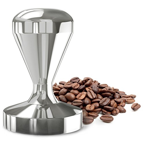 Luvao Espresso Coffee Tamper, Highest Quality Stainless Steel, American Convex Base, 58mm (Expresso Tampers compare prices)