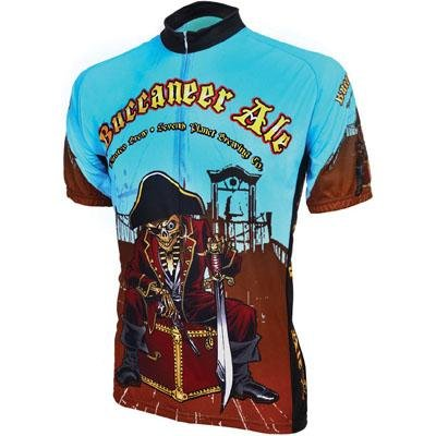 Image of World Jersey's Buccaneer Ale Short Sleeve Cycling Jersey (B002TSMOP0)