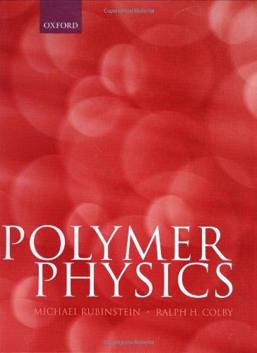 Polymer Physics Chemistry