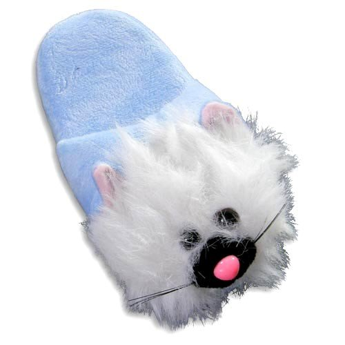 Cheap Tru-Fit – Girls Cat Slippers, Light Blue 27919 (B0064R51PM)