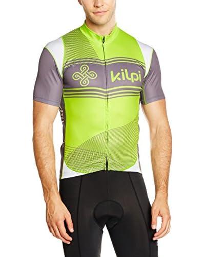 Kilpi Maillot Ciclismo Velocity-M Verde / Gris