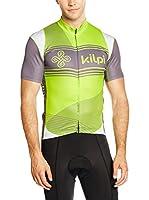 Kilpi Maillot Ciclismo Velocity-M (Verde / Gris)