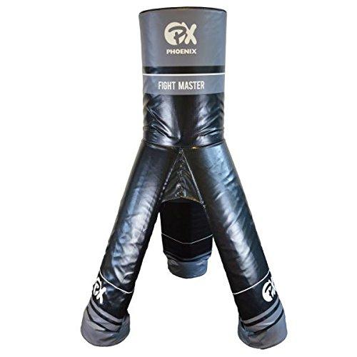 Fightmaster Pro Boxdummy und MMA Dummy Standboxsack für das Trainieren von Lowkick -Schlag und Kicks.