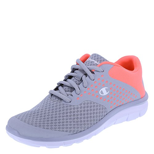 Champion Women's Grey Coral Women's Gusto Cross Trainer 5.5 Regular (Champion Womens Footwear compare prices)