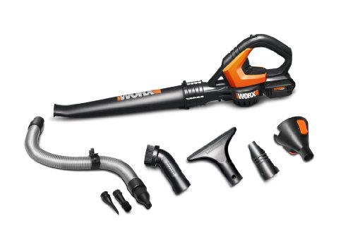 Worx Wg575.1 Worxair Lithium Multi-Purpose Blower/Sweeper/Cleaner, 32-Volt