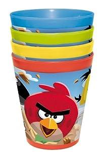Set 4 Vasos Four Seasons Angry Bird