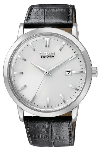 Citizen Men's BM7190-05A Eco-Drive Stainless Steel Date Watch
