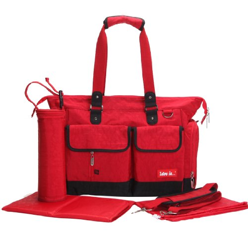 Damai Eco Friendly Material Unisex Diaper Tote Bag (Red) front-930033