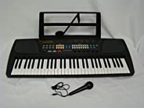 Noteworthy YM-3100 61 Key Multifunction Electronic Keyboard With Free Microphone