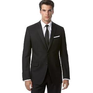 DKNY Tuxedo, Black Slim Fit