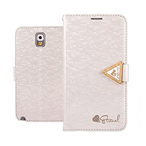 EVERGREENBUYING Case For Samsung Galaxy Note 3 III N9000 Leather Side