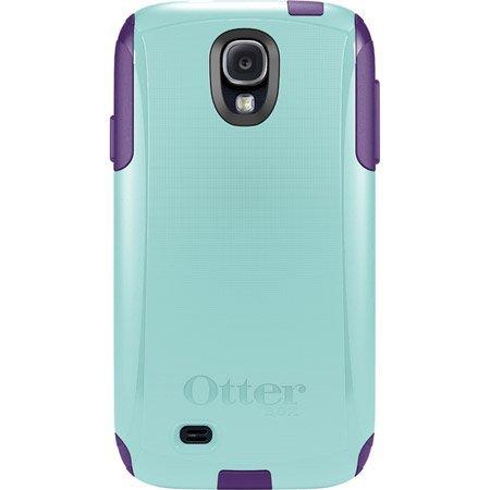New Otterbox Commuter Series Case For Samsung Galaxy S4 (Aqua Blue/ Violet Purple)