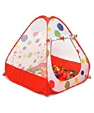Young Kids Tents / Play Tent Portable Folding Red Twist , Indoor and Outdoor Kid Playhouse Tent, Easy to Setup, Safe and Sturdy - iCorer®