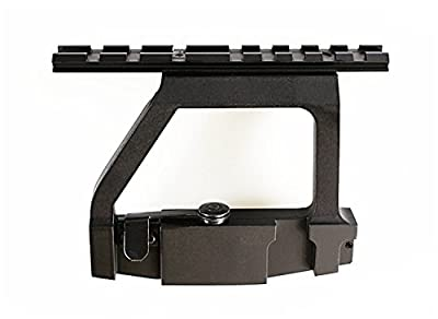 Fireclub NEW A-k 47 Scope Side Mount Tactical Heavy Duty Saiga HOT 47 Base for 20mm Weaver Scope by Fireclub