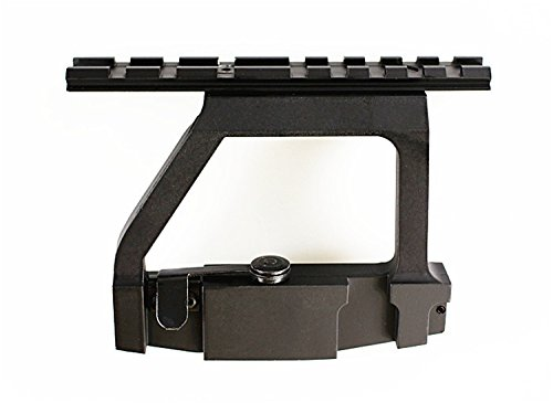 Fireclub NEW A-k Scope Mount Tactical Heavy Duty Scope Mount Base Saiga HOT 47 A-k Heavy Duty Mount Side Rail Base for Airsoft 20mm Rail Scope Sight New (Ak Side Scope Mount compare prices)
