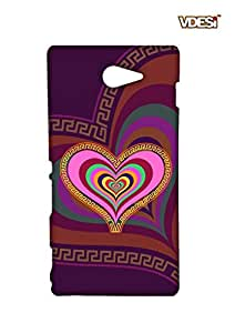 VDESI Designer Matte Back Cover For Sony Xperia M2 (D2303) -21540067