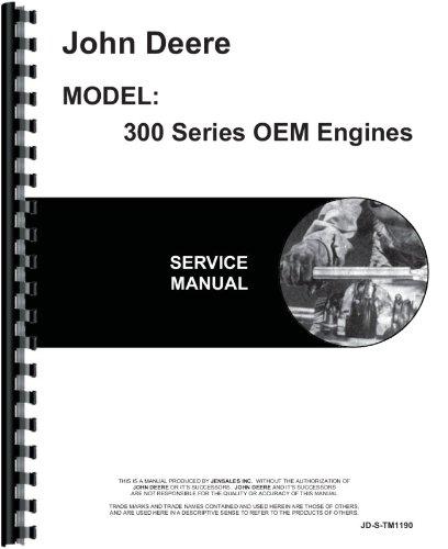 John Deere 4-276D Engine Service Manual