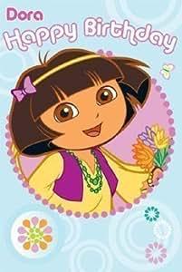 """Dora la Exploradora: """"Feliz cumpleaños"""" Tarjetas de felicitación"""