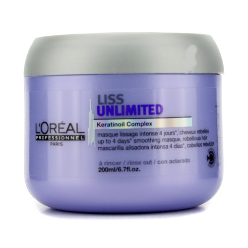 ロレアル Professionnel Expert Serie Liss Unlimited Smoothing Masque 200ml 6.76oz並行輸入品