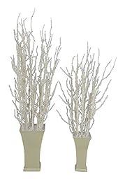 Fantastic Craft Snow Curly Twig Arrangement, 36 by 42\