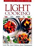 Favorite Brand Name Light Cooking (0785300805) by Publications International
