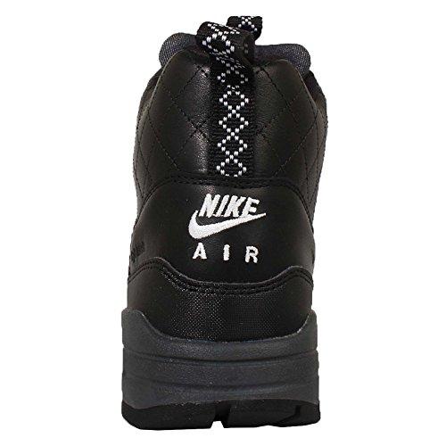 Nike Women's W Air Max 1 Mid Snkrbt RFLCT, BLACKBLACK