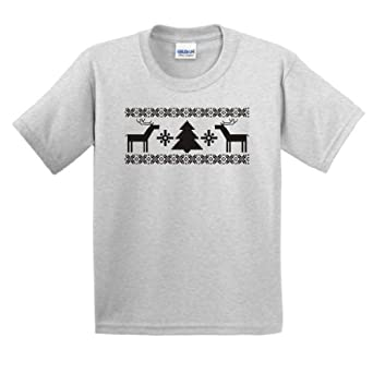 Merry Christmas Youth T-Shirt Small Ash