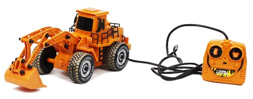 Electric Bucket Loader Wired RTR RC Construction Truck Remote Control
