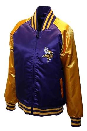 NFL Ladies Minnesota Vikings Satin Team Spirit Jacket by MTC Marketing, Inc