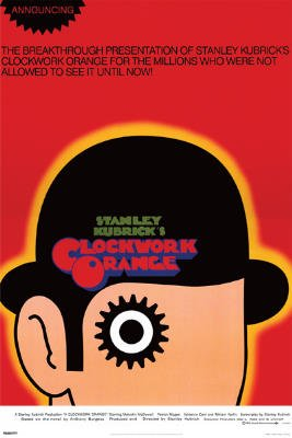 Clockwork Orange Movie Poster Print