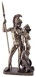 Sale - Ares and Aphrodite Greek / Roman Gods Venus and Mars - Nude Statue - Ships Immediatly !!