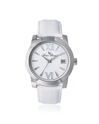 Lucien Piccard Women's 10026-02-WH Bordeaux White Leather Watch