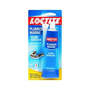 Loctite 1366077 2.7-Ounce Tube Plumber and Marine Adhesive