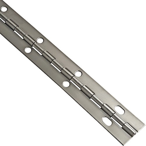Stainless Steel Piano Hinge, 1-1/2'' W x 72'' L