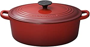 Le Creuset Enameled Cast-Iron 8-Quart Oval French Oven, Cherry