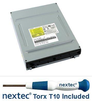 microsoft-xbox-360-slim-lecteur-dvd-phillips-liteon-dg-16d4s-0225-nextecr-tournevis-de-securite-t10