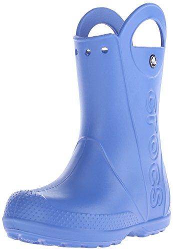 Crocs, Rain Boot K, Stivali, Unisex - bambino, Blu (SEA), 26