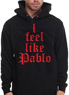 I Feel Like Pablo Hoodie Hooded Sweatshirt Red Old E English Urban Wear Hip hop