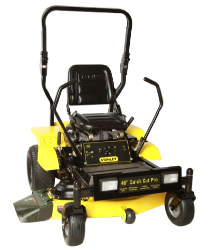 Stanley 48ZS 48-Inch 20 HP Heavy-Duty Kawasaki V-Twin FR600V Zero Turn Riding Lawn Mower with Rollbar image