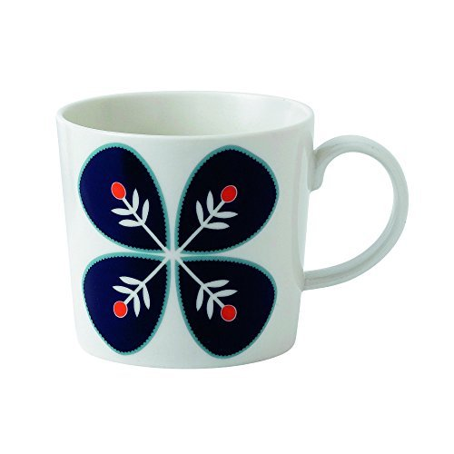 Royal Doulton Fable Garland Flower Accent Mug, White by Royal Doulton