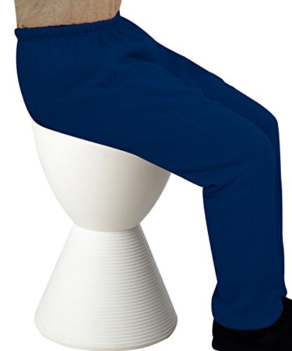 Wheelchair Trackpants - Womens Adaptive Clothing - Fleece Pants - Navy MED (Wheelchair Clothing compare prices)