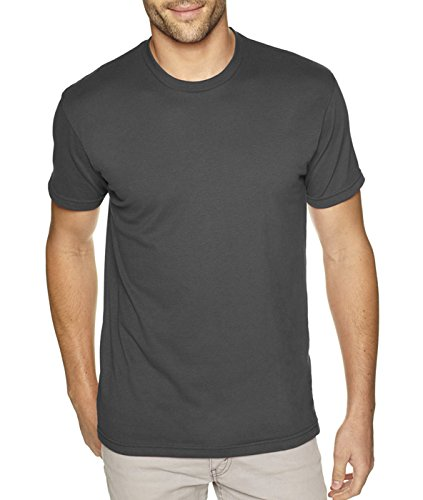 next-level-mens-premium-fitted-sueded-crew-heavy-metal-small