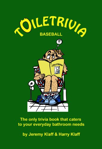 Free Kindle Book : Toiletrivia - Baseball: The Only Trivia Book That Caters To Your Everyday Bathroom Needs (Volume 3)