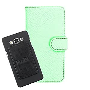 DooDa PU Leather Wallet Flip Case Cover With Card & ID Slots For HTC Explorer A10E - Back Cover Not Included Peel And Paste